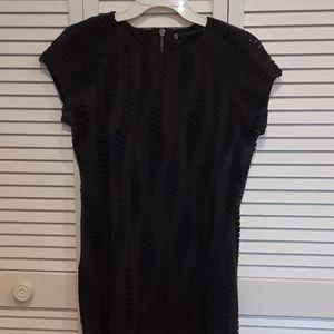 Dark grey-blackish see-through shirt